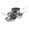 Campingaz Vaisselle Trekking - Vaisselle - 5 pièces acier inoxydable gris